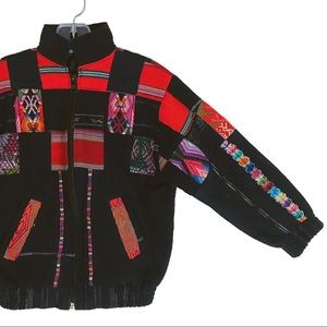 Other - Aztec Printed Colorful Jacket